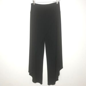 Joseph Ribkoff Medium Black Wide Leg Pants